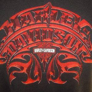 Harley Davidson Long Sleeve Thermal Shirt Missoula